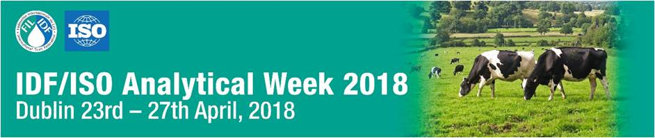 Participation in the expo during IDF/ISO Analytical week 2018